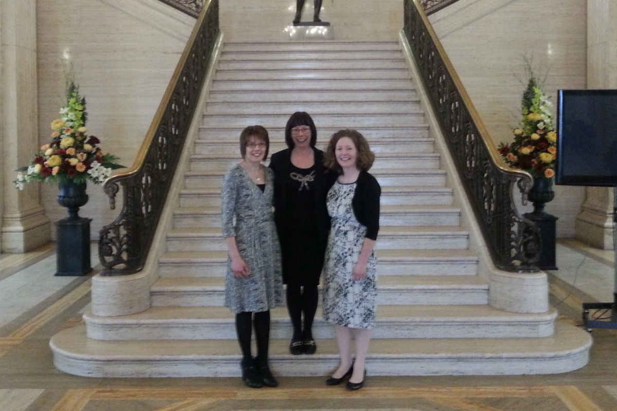 Picture of IPH Staff at NI Assembly at Finance and Personnel Committee